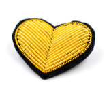 Bullion artesanais e fio de seda emblemas do Exército