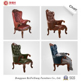 High Elastic Sponge Filling (W215)를 가진 Ruifuxiang 거실 Red Leather Chair