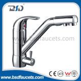 3 Möglichkeits-Trinkwasser-gefilterter Wasser RO-Systems-Küche-Hahn
