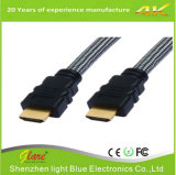 Schwarzes 1m HDMI zum HDMI Kabel mit Audio des Ethernet-3D