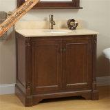 Переходной шкаф ванны тщеты ванной комнаты твердой древесины Fed-1633