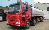 Carro del transporte del petróleo de los árboles 20t de FAW 3 20000 litros de aluminio de la aleación de carro de combustible