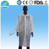 PP SMS PP + PE Hospital Gown Lab Coat com Ce Certificate