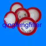 배기 가스 여과를 위한 25mm PTFE 0.22um 주사통 필터