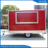 Restauration mobile faite sur commande Van de nourriture de guichet