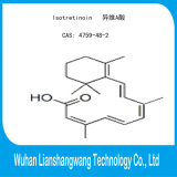 가혹한 여드름 처리를 위해 GMP 99% Isotretinoin CAS 4759-48-2 API