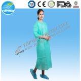 Vestido médico descartável de Islation do vestido de /Surgical do vestido