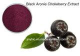 100%の純粋で自然で黒いChokeberryのエキスのアントシアニジン1%から25%