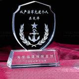 Trofeo cristalino de la concesión de la alta calidad K9 para los recuerdos