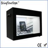 14 LCD van de Vertoning van de duim de Transparante Speler van de Advertentie van de Showcase (xh-dpf-140A)