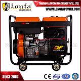 5kw Diesel van het 5000W5kVA Open Type Generator met Ce Soncap CIQ (ad3800dce-a)