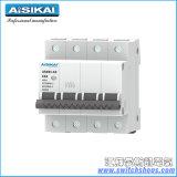 De Stroomonderbreker van Mininature (MCB) met Elektrische Lekkage (4P) Askb1l-63