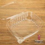 처분할 수 있는 애완 동물 플라스틱 샐러드 상자