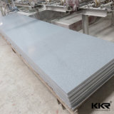 Superfície do sólido de Corian do material de construção da pedra decorativa