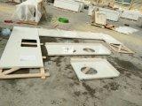 Star White Quartz Slabs Topes de vaidade de banheiro Island Tops Quartz Kitchen Countertops
