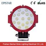 Luz del trabajo de la alta calidad 51W 7inch LED