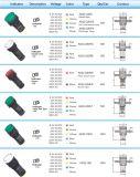Tipo general indicador de Ad22-22ds del LED