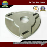 Corpo lavorante di macinazione del piatto dell'arco di CNC dell'alluminio piacevole di qualità dal centro di CNC
