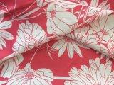 여자 아래로 재킷을%s 꽃에 의하여 인쇄되는 폴리에스테 직물