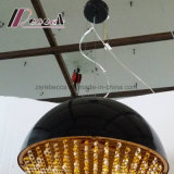 최신 판매 호텔을%s 현대 수정같은 둥근 펀던트 램프