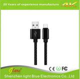 MikroAndroid 2.4A USB-aufladendaten-Kabel für Sumsung