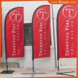 bandierina su ordinazione della piuma della lama 3PCS per la pubblicità di evento o esterna