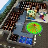 Le trampoline parc total de la solution complète