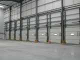 De sectionele Deuren van de Lift van de Industrie met de Deur van de Mens 9*9 snel broodje-op Sectionele Garage (Herz-SD015)