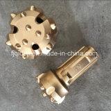 En bas du trou Ql60-152 pour l'outil à pastilles du marteau DTH de Ql