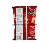 주문을 받아서 만들어진 인쇄된 감자 칩 식품 포장 플라스틱에 의하여 밀봉되는 부대 감자 칩 플라스틱 식품 포장 부대