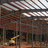 Edificio de estructura de acero para la producción