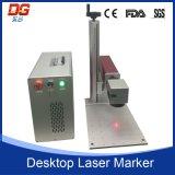 Hochgeschwindigkeitsbewegliche laser-Markierungs-Maschine der Faser-20W Optik
