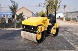 Maquinaria de construção rodoviária Pequeno rolo de estrada de 1-3 toneladas / rolo de estrada vibratório pequeno