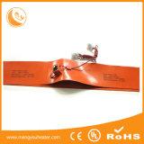 de Verwarmer van de Trommel van 250*1740mm 200L verdraagt Rubber Flexibele Warmhoudplaat Slicone