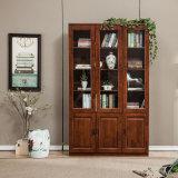 Деревянный Bookcase спальни твердой древесины полки книги деревянный (GSP9-033)