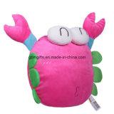 星の小型詰められたプラシ天のおもちゃのEmoticonの投球枕クッション