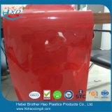 De duurzame Rode 5mm Dikke VinylBroodjes van de Deur van het Gordijn van de Strook van het Lassen van pvc Plastic