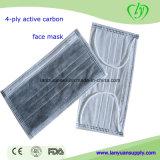 Maschera di protezione attiva chirurgica a gettare del carbonio 4-Ply nel paese