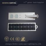 15W todo en una luz de calle solar con el sensor