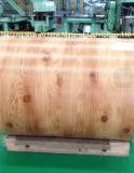 Bobine en acier galvanisée avec la configuration en bois pour la décoration