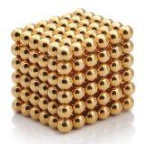 Sfera magica poco costosa multicolore 5mm del magnete di puzzle dell'oro 3mm 4mm