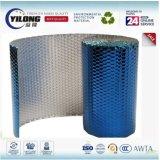 Isolation r3fléchissante thermique en aluminium argentée de bulle de clinquant