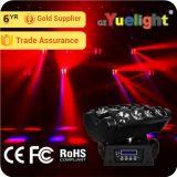 Preiswerter Armkreuz-Träger-bewegliches Hauptlicht des Preis-8PCS*12W 4in1 RGBW LED