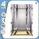 Лифт пассажира нержавеющей стали вытравливания зеркала скорости 1.5m/S