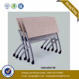 Стул тренировки студента мебели школы горячего надувательства самомоднейший дешевый складывая (HX-5D148)