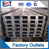 Barra de hierro en U del acero inoxidable (201 304 316)