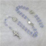 9mm Metal Beads Wholesale Rosaires avec perles et crucifix de St. Benedict et pièce centrale (IO-cr375)