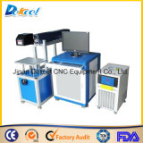 máquina del CNC de la etiqueta de plástico del laser del CO2 20W para la madera/el plástico/el papel