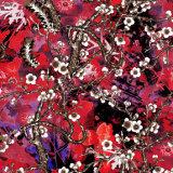 Tela de seda de venda quente da cópia de Digitas com amostras livres
