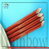 Gainer d'isolation de fil électrique de fibre de verre en caoutchouc de silicones de Sunbow 10mm